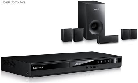 Samsung Home Theater 5 1ch Ht E350k specification sheet ht e350k xa samsung 330w 5 1 ch hdmi dvd home theatre system