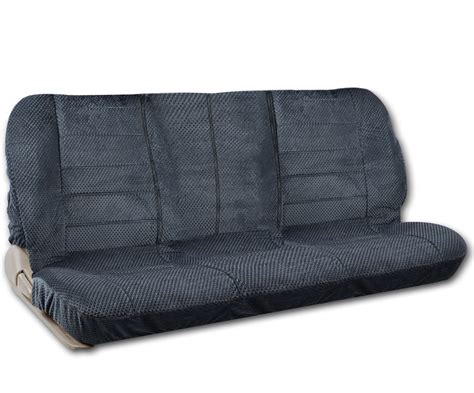 bench front seat bench seat cover front scottsdale fabric charcoal blue for