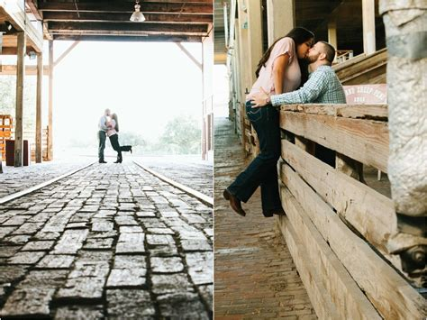 Michael and Jessica Engagement Portraits   Fort Worth