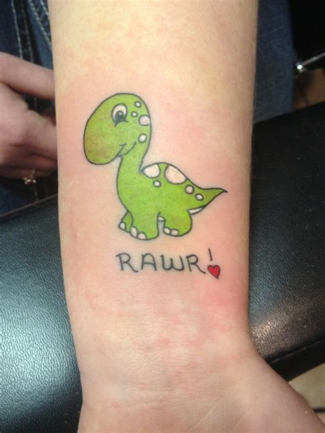 11 delightful dinosaur tattoos