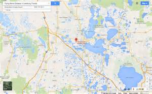 Map Of Leesburg Florida by Randy Rhoads Plane Crash Location Rock And Roll Gps