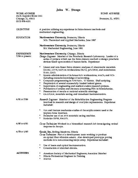 curriculum vitae in thesis master thesis cv