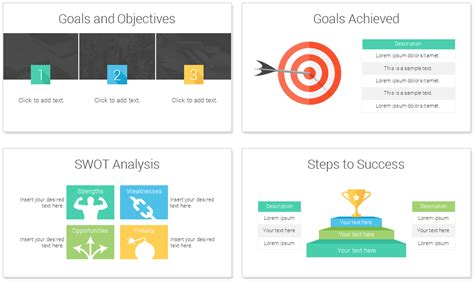 ppt templates for goal setting smart goals powerpoint template presentationdeck com