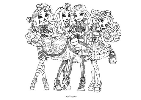 ever after high logo coloring pages free coloring pages of ever after high logo