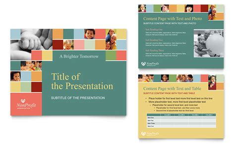 ppt templates for ece free download non profit association for children powerpoint