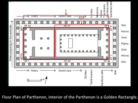 parthenon floor plan art of classical greece upload