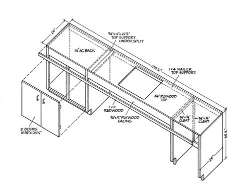 free kitchen cabinet plans download how to build a bar sink cabinet plans free