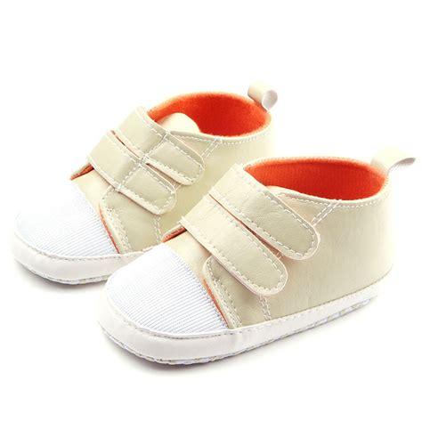 crib shoes 3 size non slip baby toddler boy sneaker crib bow