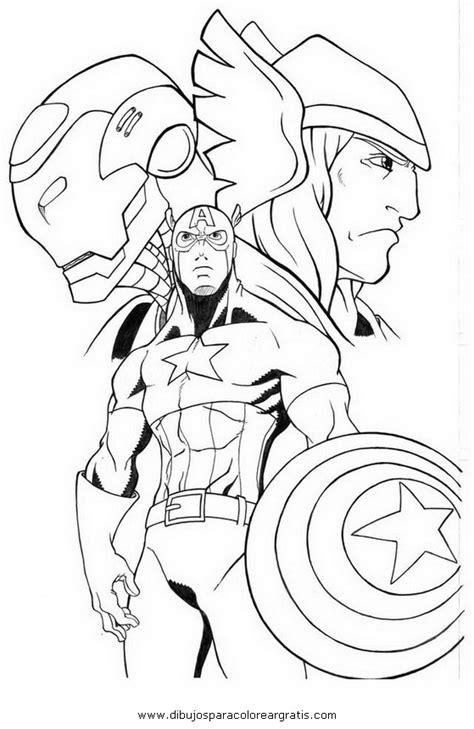 imagenes para colorear vengadores dibujos de avengers imagui