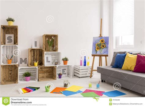 Living Room Essay by Discover Your New Hobby Stock Photo Image 70195288