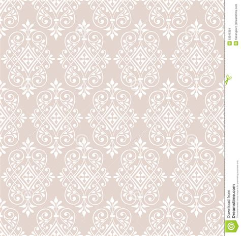 classic pattern background vector classic seamless wallpaper background pattern stock vector