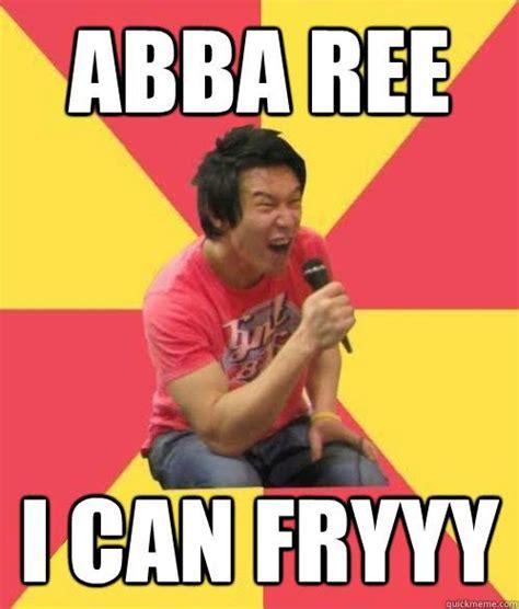 Asian Karaoke Meme - minority on minority racist memeing at cornell law
