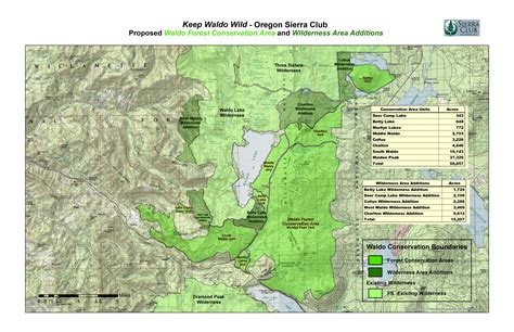 forest map oregon oregon chapter club