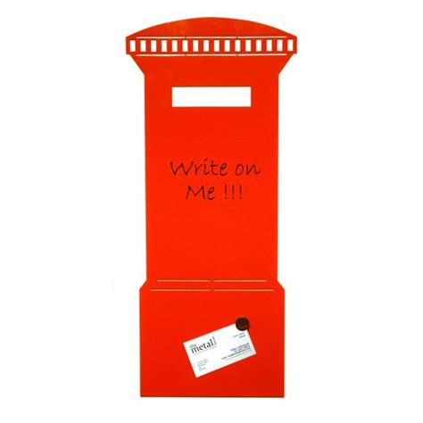 post box design for house post box design magnetic memo board red