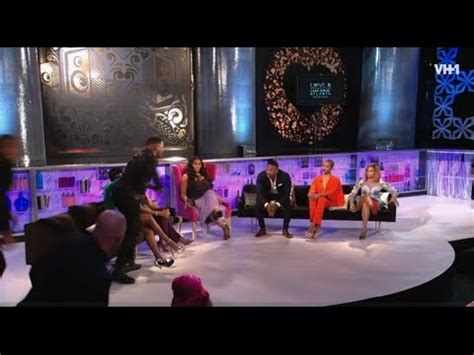 love and hip hop atlanta reunion fight and twitter drama love hip hop atlanta season 4 reunion part 1 youtube