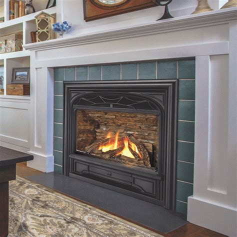 Gas Fireplace Clearance by Valor Horizon With Traditional Cast Front Gas Zero