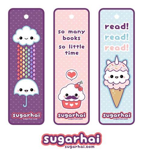 printable bookmarks printable bookmarks kawaii printable