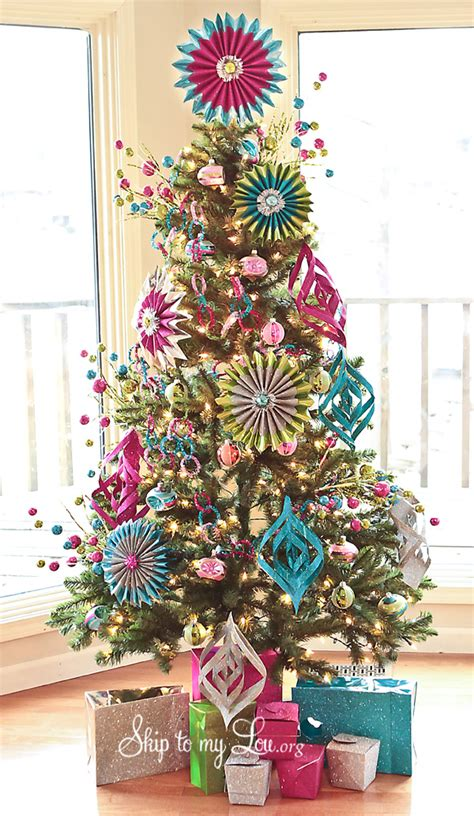 Decorated Trees - tree photo
