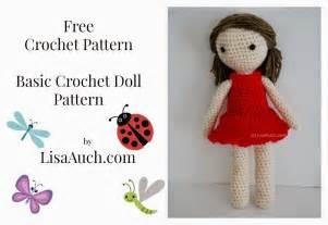 Free crochet amigurumi doll pattern a basic crochet doll pattern free
