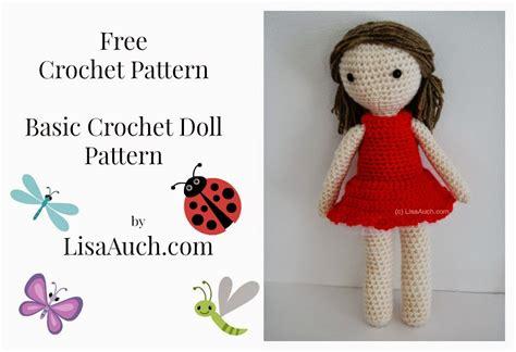 pattern crochet free doll free crochet amigurumi doll pattern a basic crochet doll