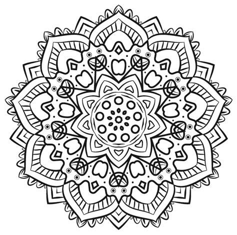 desenho mandalas arteterapia 3 mandalas para colorir alto astral