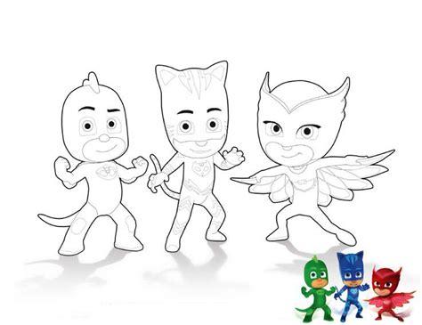 caritas para colorear pintar e imprimir dibujos para colorear pintar e imprimir pj masks