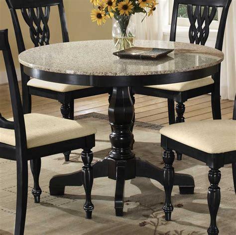 Print of Beautiful Granite Dining Table Set   Perfect