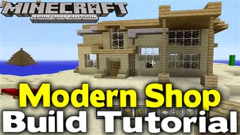 how to build a shop minecraft quot modern shop quot build tutorial how to build ep