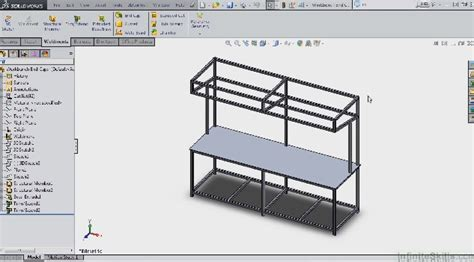 tutorial solidworks weldments how to creating structure steel pipe end caps in