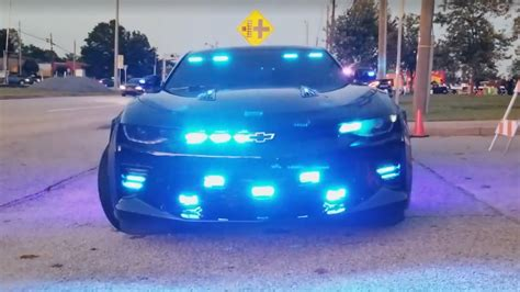 police camaro this georgia sheriff s chevy camaro ss police car looks