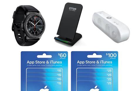 Itunes Gift Card Pack Discount - early weekend deals 33 off beats pill 16 wireless charging dock 70 off gear s3
