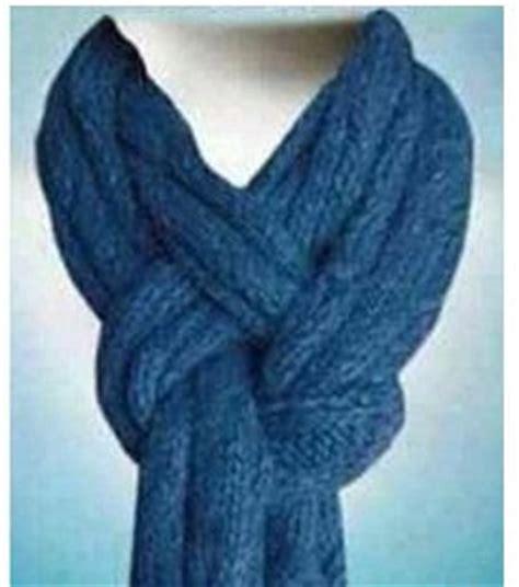 nudos de bufanda hacer nudos bufanda