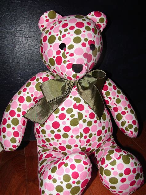 memory teddy bear patterns how to make memory teddy bears from clothing 5 diys
