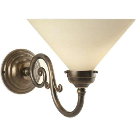 Period Lighting by Character Metal Wall Light Aged Solid Brass Choice