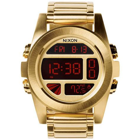 Nixon Unit Digital nixon unit ss gold digital at zumiez pdp
