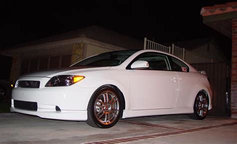 2006 scion tc 1 8 mile drag racing timeslip 0 60