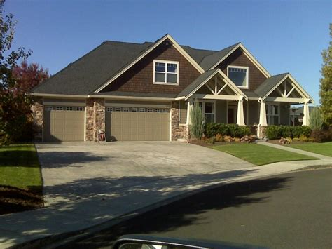 new home styles new house plans craftsman style