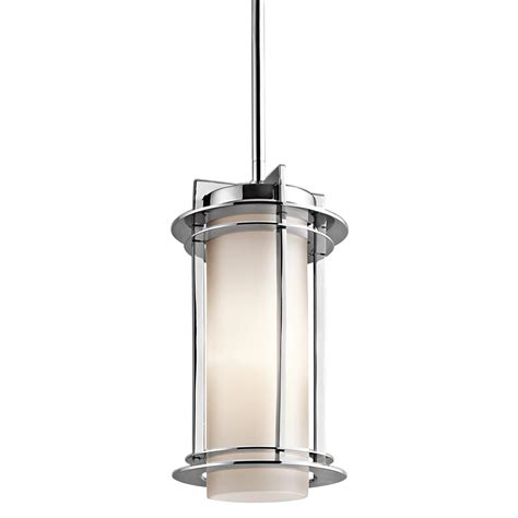 Contemporary Outdoor Pendant Lighting Kichler Lighting 49347pss316 Pacific Edge Modern