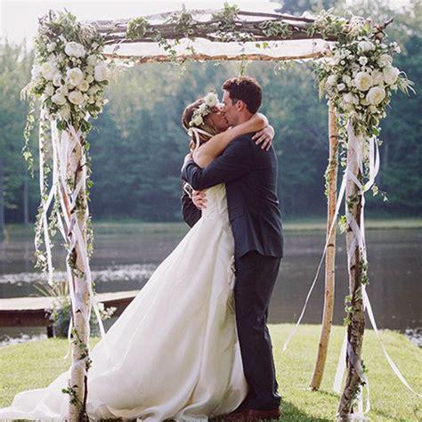 White Wedding Arch Uk by Decorative Birch Wedding Chuppah Pergola Decorative