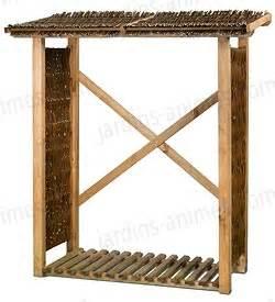 abri bois de chauffage abri pour bois de chauffage en osier et pin fsc mobilier