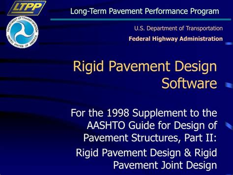 powerpoint design software ppt rigid pavement design software powerpoint