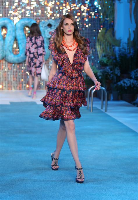 Galliano Gets Smoochy At Diors Cruise Show by Christian Cruise 2009 Collection Runway Zimbio