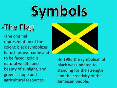 jamaica flag color what do the colors in jamaica s flag