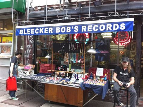 Records Nyc New York City Record Stores Bleecker Bob S Records Turntabling