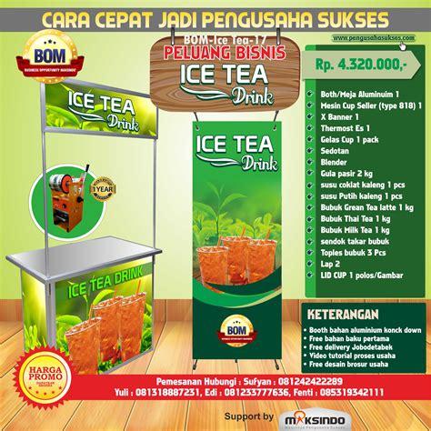 paket free ongkir 2kg paket usaha tea drink program bom agrowindo agrowindo