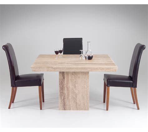 Marble Square Dining Table Alicante Square Dining Table In Marble Light Travertine From Dansk