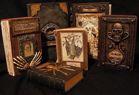 A Creepy Book other spooky altered books how to