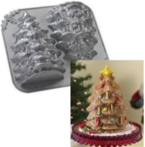 simple recipe for nordic ware christmas holiday tree bundt pan out of stock nordic ware 3d tree mold