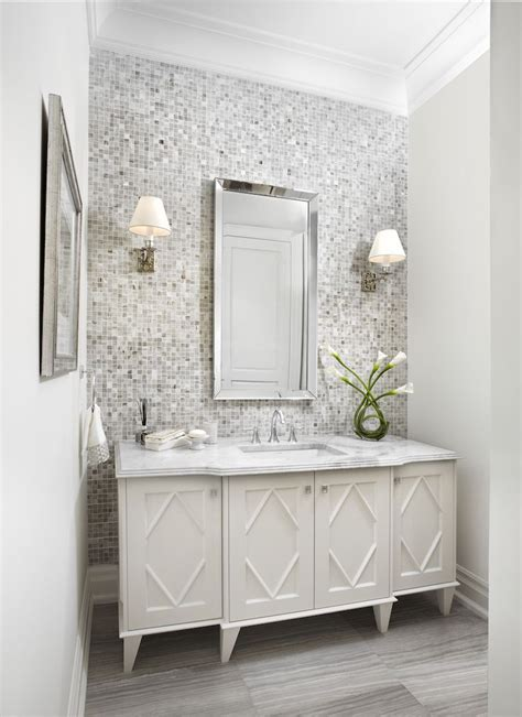 classic powder room bathroom ideas  decor