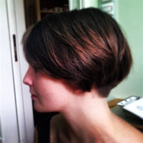 buzzed wedge haircut 12504 best images about back view assym bobs on pinterest
